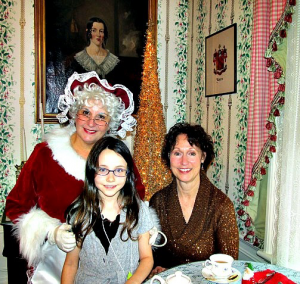 Tea with Mrs. Claus @ Easton Tea Room | Fall River | Massachusetts | United States