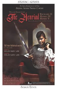 Shakespeare in the Park: The Henriad, Part 1 @ Fall River Historical Society
